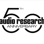 Audio Research 50 Anniversary Logo